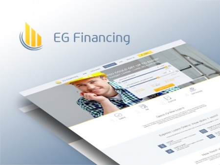 Наши работы smart-sites: EG Financing